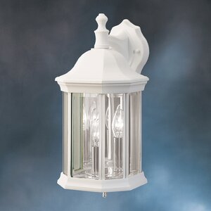 Bayou 3-Light Outdoor Wall Lantern