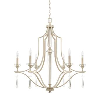 Classic Lighting Monte Carlo Elite 6 Light Candle Style Classic Traditional Chandelier Wayfair