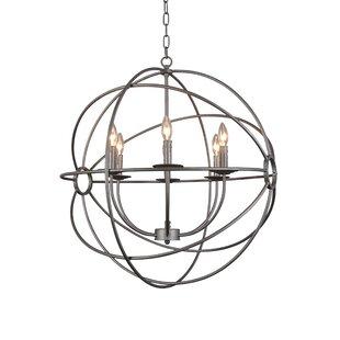 Reviews Lorri 6-Light Globe Chandelier By 17 Stories