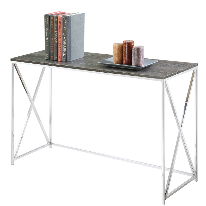 Zipcode Design  Carrollton Console Table Color: Weathered Gray