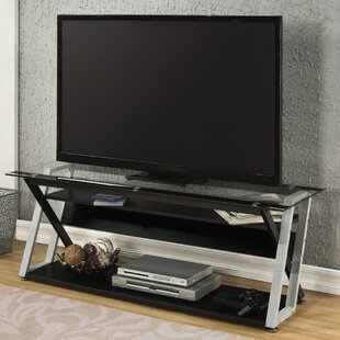 Glass Shelf Tv Stands Youll Love Wayfair