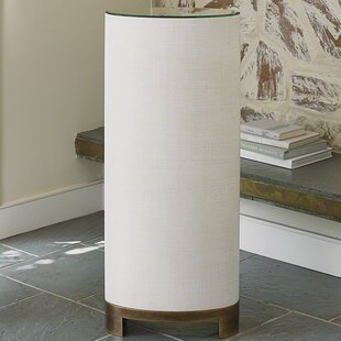 Louis Pedestal End Table
