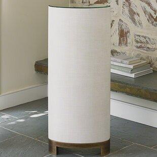 Louis Pedestal End Table