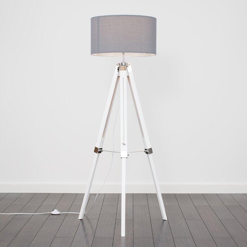 e0704acbf1 17 Stories Warrensburg 147cm Tripod Floor Lamp & Reviews   Wayfair.co.uk