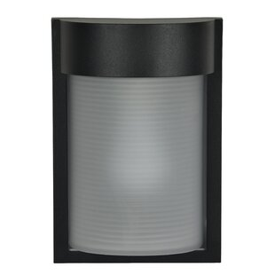 Orren Ellis Stonehill 1-Light Outdoor Flush Mount