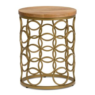 Battaglia End Table by Ivy Bronx