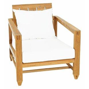 OASIQ Limited Teak Patio chair with Cushi..