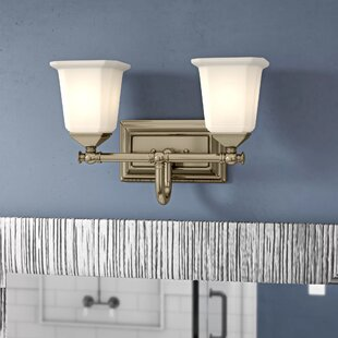 Bima 2-Light Vanity Light by Three Posts
