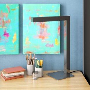 Ramsey Chrome LED 18 Desk Lamp by Wade Logan