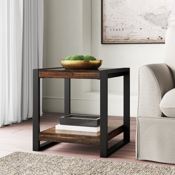 Greyleigh Telfair Sled End Table Reviews Wayfair