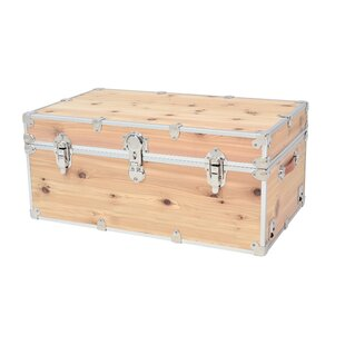 Lucasville Domestic Heirloom Knotty Cedar Storage Trunk