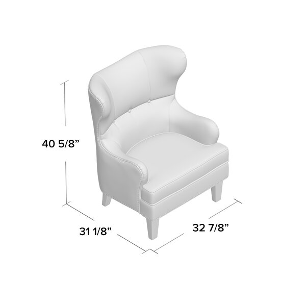 "Barnard 21"" Wingback Chair"