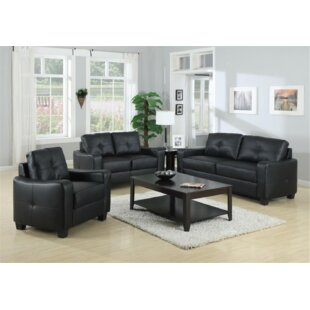 Prosser 3 Piece Living Room Set
