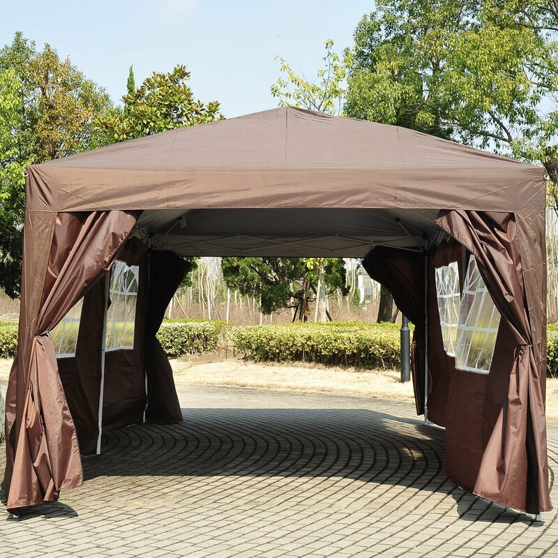6m x 3m Steel Pop-Up Gazebo