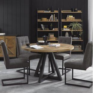 Langella Dining Set With 4 Chairs By Bloomsbury Market