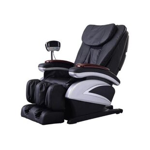 Electric Full Body Shiatsu Recliner Stretched Foot Rest Massage Chair