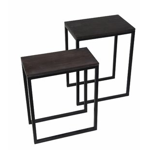 Copes 2 Piece Nesting Tables by Gracie Oaks Modern