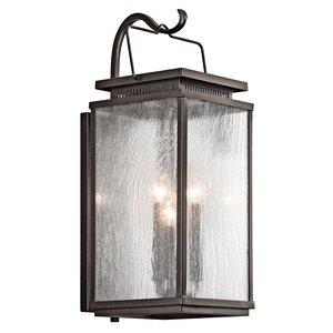 Conesville 3-Light Outdoor Wall Sconce