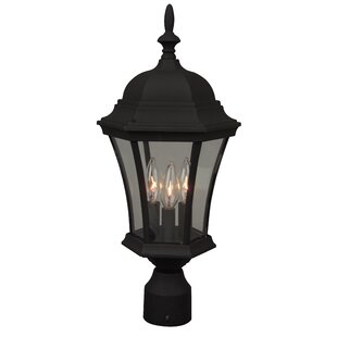 Charlton Home Oakhill Outdoor 3-Light Lantern Head