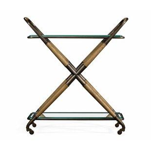 Urban Cool Kathleen Bar Cart by Jonathan Charles Fine Furniture