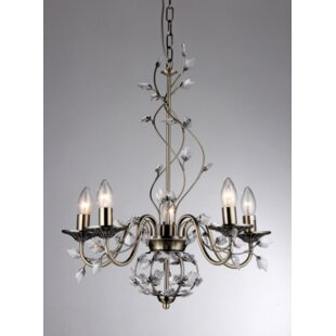 Find the perfect Charlotte 5-Light Candle Style Chandelier By Warehouse of Tiffany