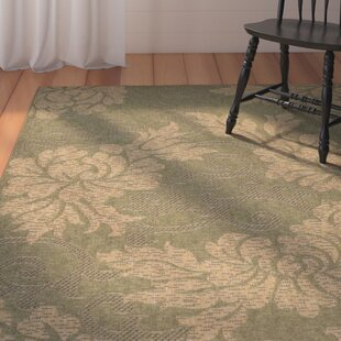 Laurel Green/Natural Indoor/Outdoor Area Rug