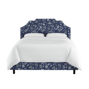 Darby Home Co Edmondson Linen Upholstered Panel Bed