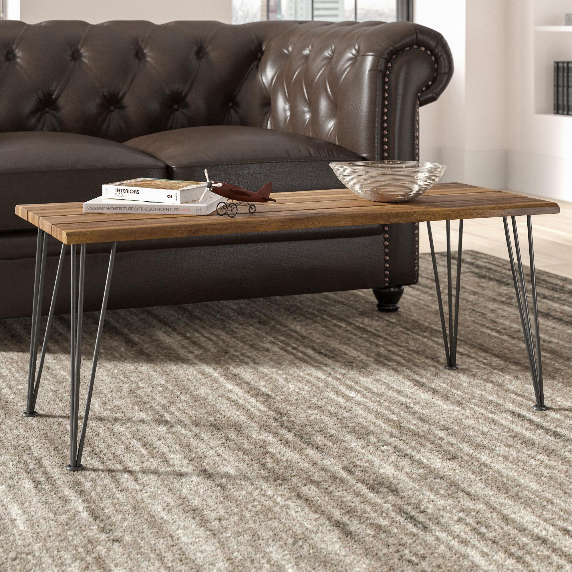 Trent Austin Design Guyapi 4 Legs 3 Nesting Coffee Table Reviews Wayfair