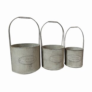 Indiana 3 Piece Plan Pot Set By Lily Manor