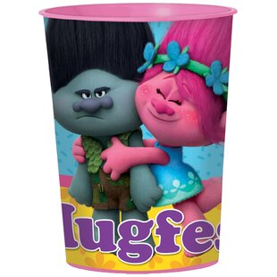 Trolls Plastic/Paper Disposable Favor Cup