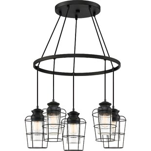 Clemens 5-Light Novelty Chandelier by Williston Forge