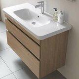 DuraStyle 29 Wall-Mounted Single Bathroom Vanity by Duravit