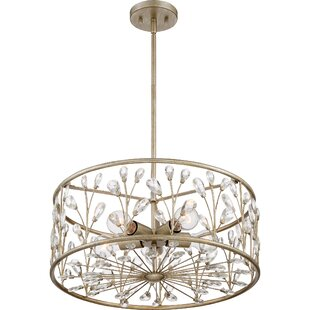 Mccaulley 5-Light Crystal Chandelier