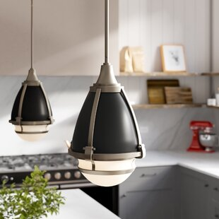 Duval 1-Light Cone Pendant by Brayden Studio