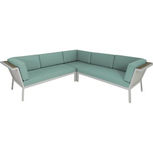 Marina Geo Sectional with Cushions