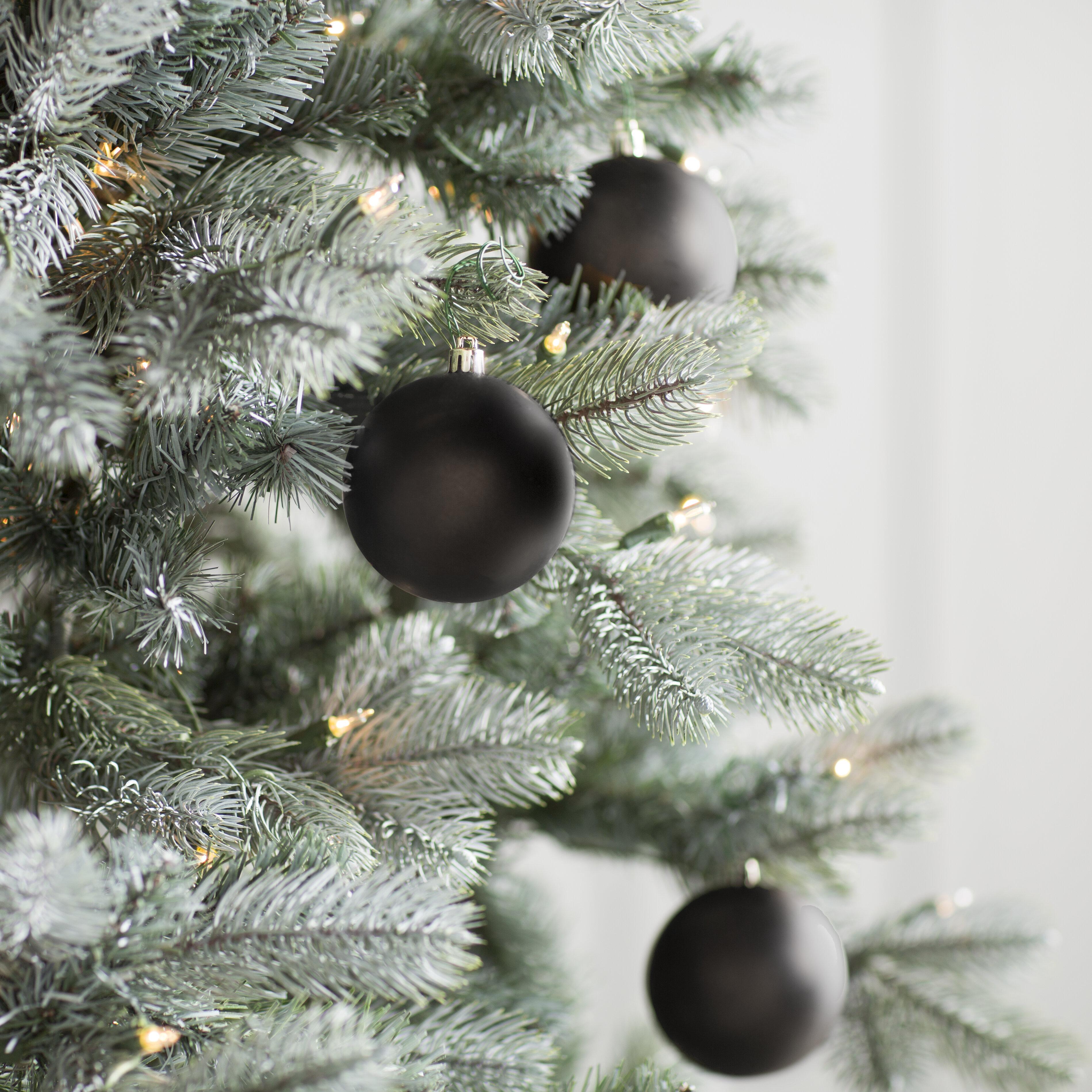 Black Christmas Ornaments You Ll Love In 2021 Wayfair