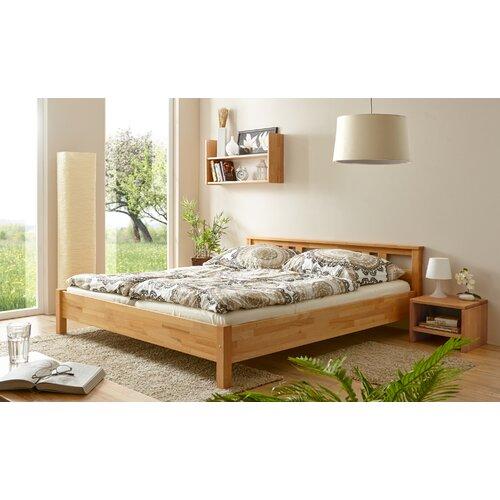 Massivholzbett Merci | Schlafzimmer > Betten > Massivholzbetten | Buchenholz - Massiver - Massivholz - Holz | TICAA