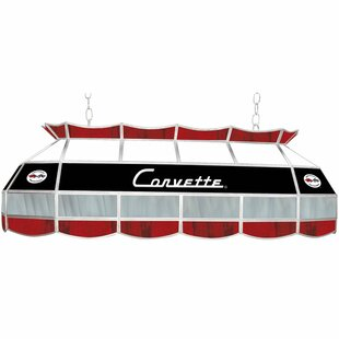Corvette C1 3-Light Pool Table Light by Trademark Global