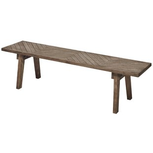 Rodney Wood Bench by Loon Peak