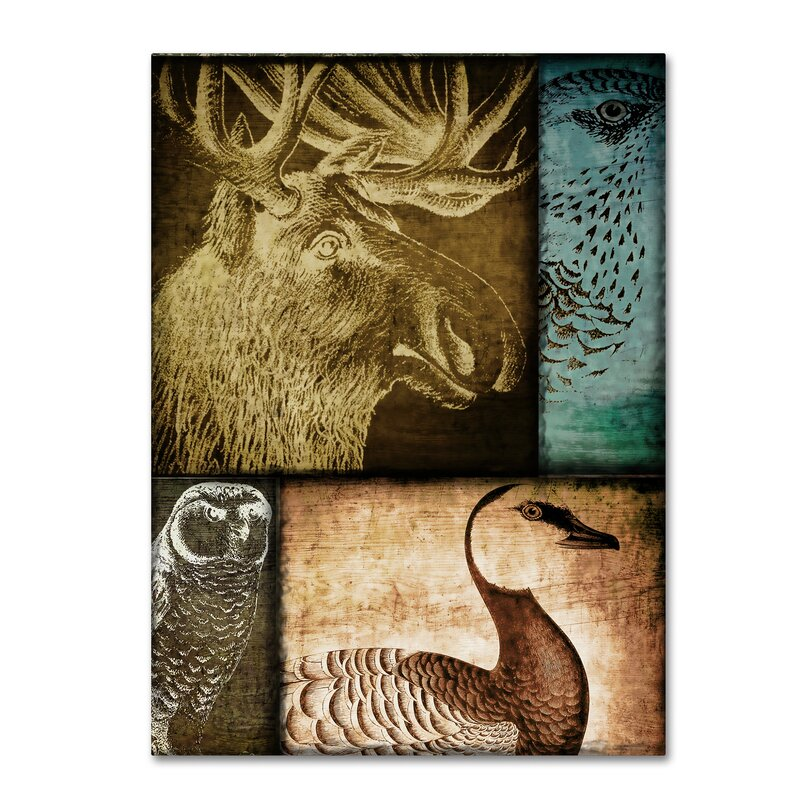Trademark Art Hunting Season Iii By Color Bakery Graphic Art On Wrapped Canvas Wayfair