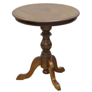 NES Furniture Isabelle Fine Handcrafted Solid Mahogany Wood End Table