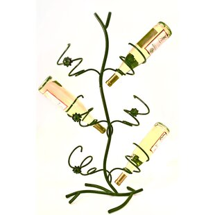 Wild Rose 6 Bottle Tabletop Wine Rack by ..