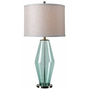 Modern contemporary contemporary table lamps allmodern mykonos 31 table lamp mozeypictures Choice Image