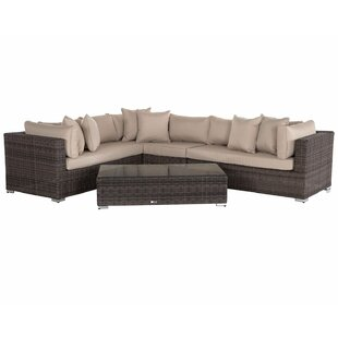 Tessa 6 Seater Rattan Sofa Set By Sol 72 Outdoor