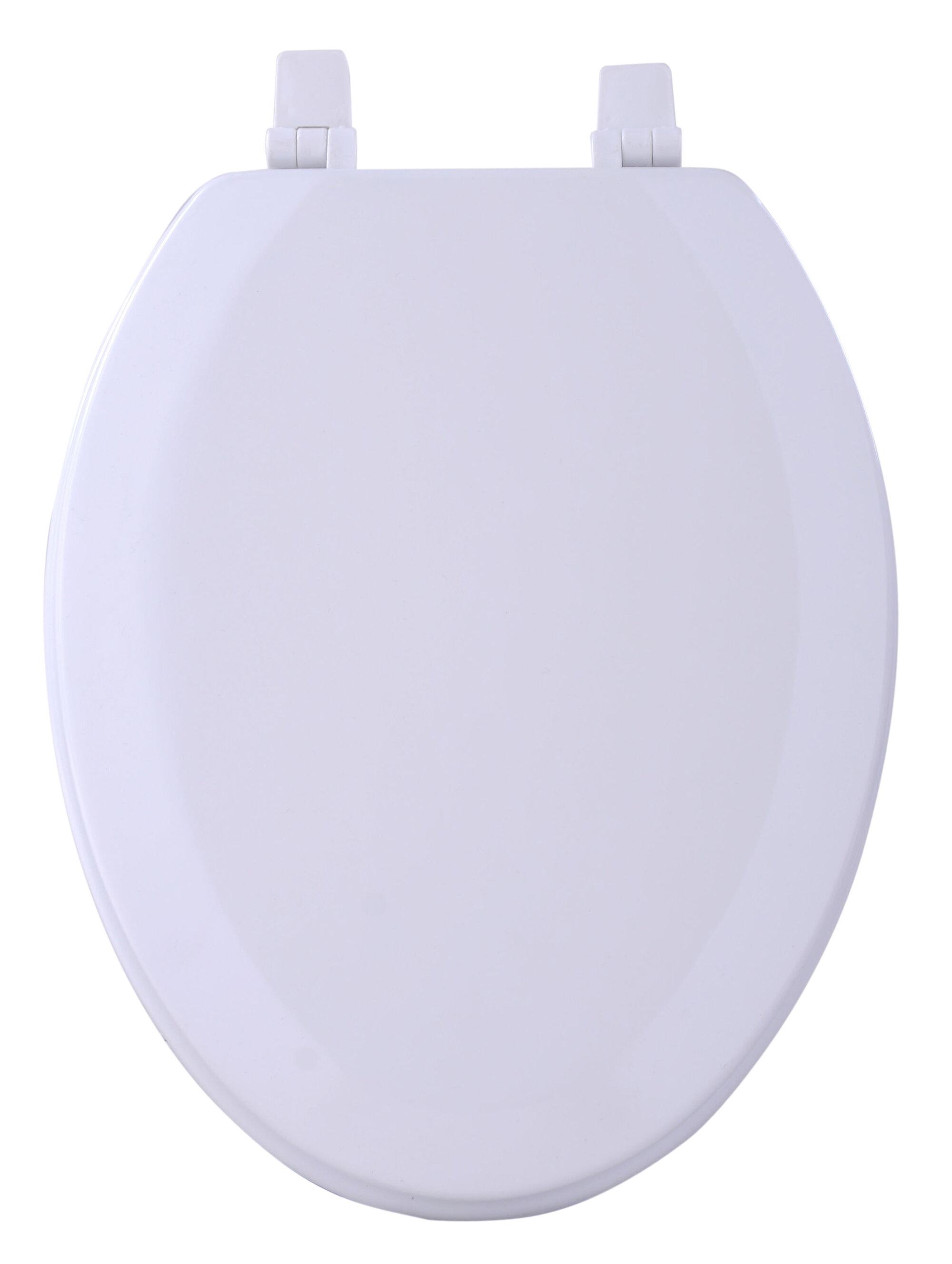 Achim Importing Co Fantasia Elongated Toilet Seat Reviews Wayfair