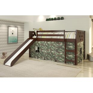 Huber Circles Twin Low Loft Bed by Isabelle amp Max