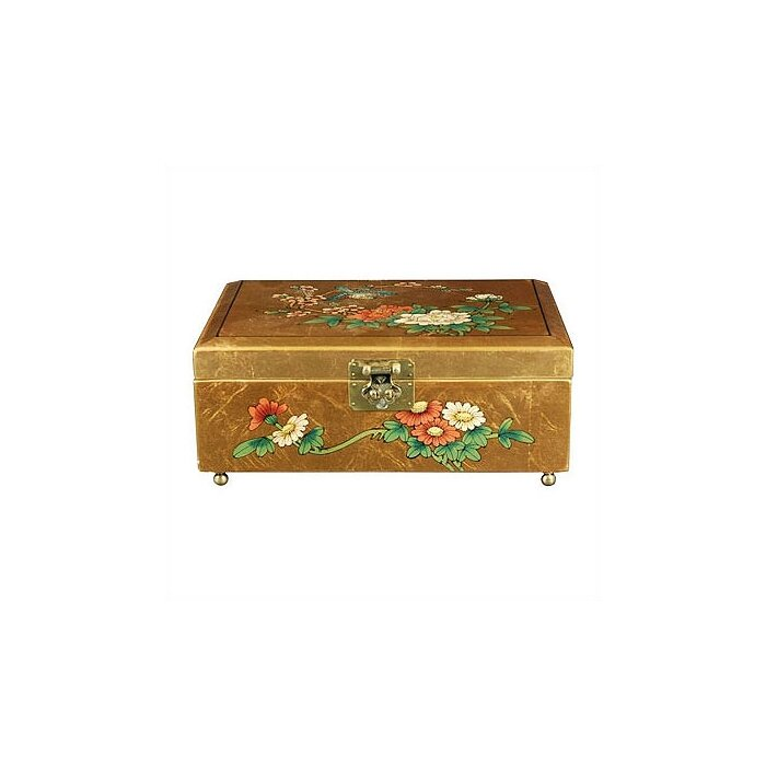 Oriental Furniture Clementina Asian Jewellery Box Reviews Wayfairca