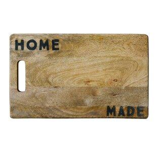 Mayhugh Wood Cutting Board