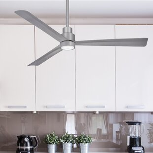 Price Check 52 Simple 3 Blade Ceiling Fan By Minka Aire