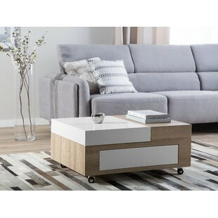 Yvonne Coffee Table with Storage by Wrought Studio